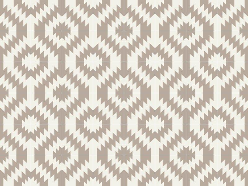Indoor/outdoor cement wall/floor tiles ODYSSEAS 332 by TsourlakisTiles