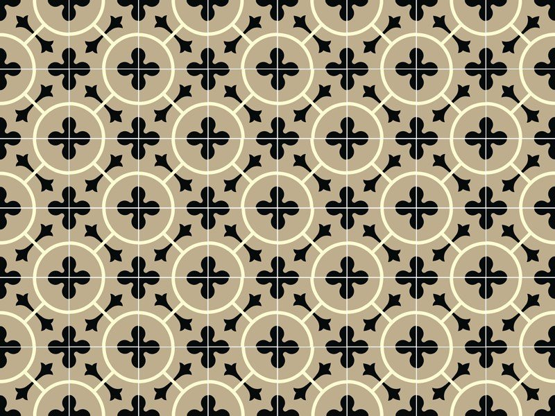 Indoor/outdoor cement wall/floor tiles ODYSSEAS 334 by TsourlakisTiles