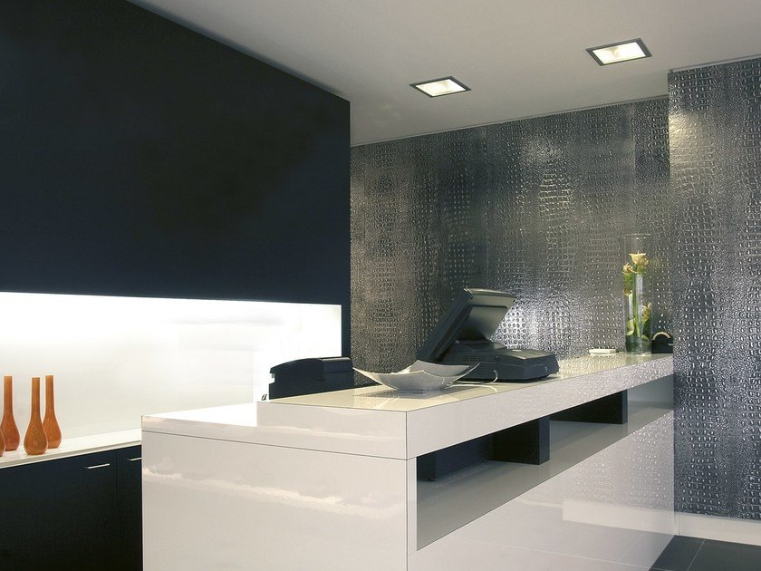 Polystyrene wall tiles with leather effect STRUCTURE LINE | Wall tiles with leather effect by SIBU DESIGN