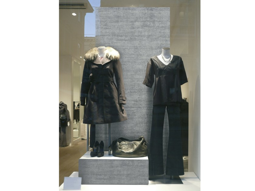 Polystyrene Shop furnishing TITAN by SIBU DESIGN