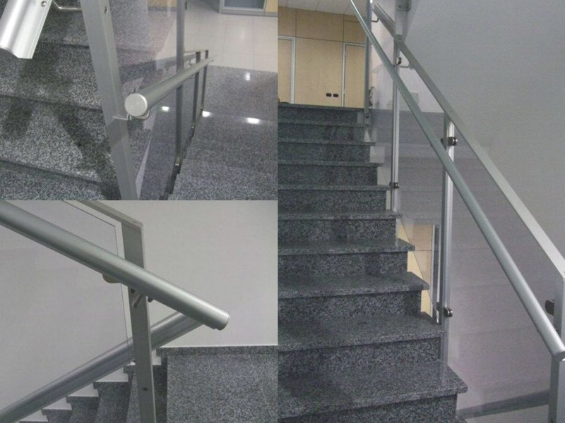 Polycarbonate balustrade COMPATTO by ALUSCALAE