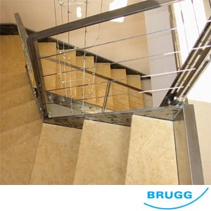 Stainless steel balustrade / Fence Funi BRUGG by CP Sistemi