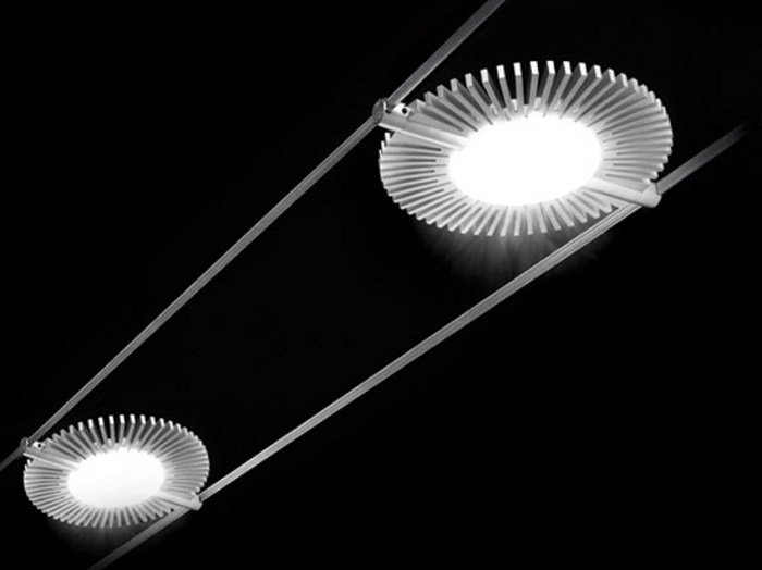 Cable-mounted pendant lamp NEW TENSOLED by Cini&Nils