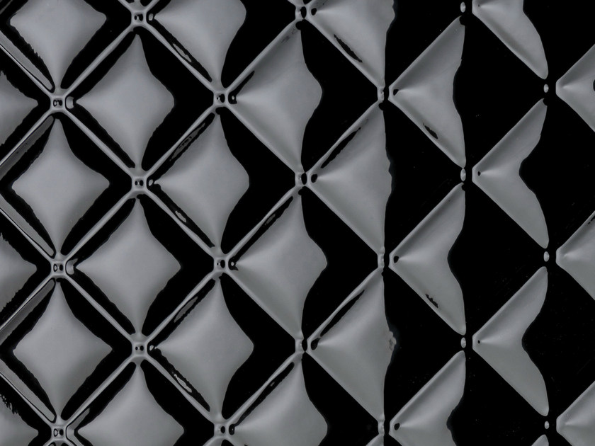 MDF 3D Wall Panel SQUARE BLACK GLOSS by Marotte