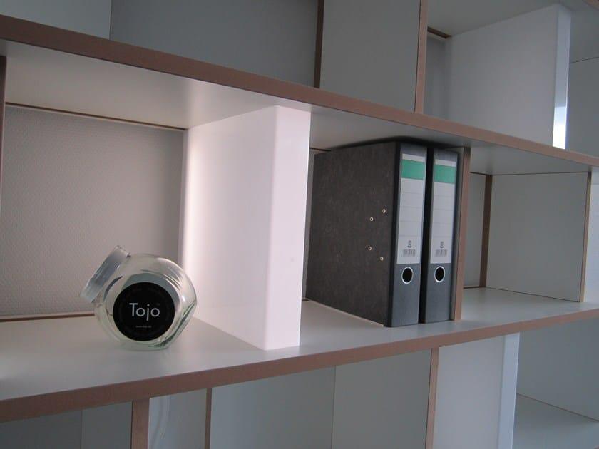 Illuminazione per mobili a led in vetro acrilico stell