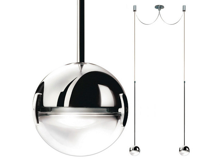 LED pendant lamp CONVIVIO LED SOPRATAVOLO DUE by Cini&Nils