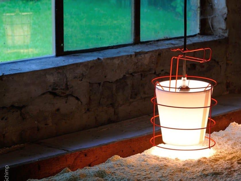 Metal table lamp BALADEUSE | Table lamp by Hind Rabii