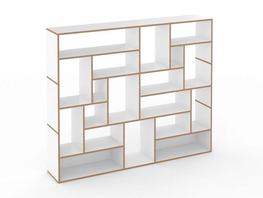 Tojo Möbel open modular mdf bookcase hanibal by tojo möbel design floid product