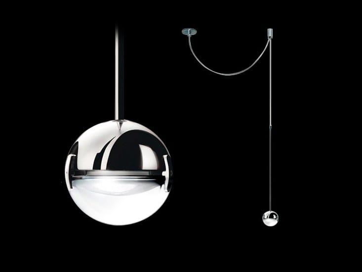 Halogen pendant lamp CONVIVIO SOPRATAVOLO DECENTRATA by Cini&Nils
