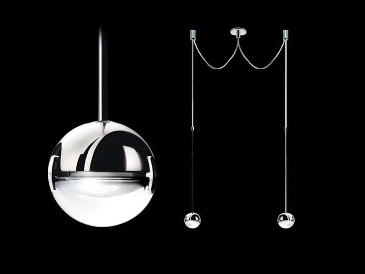 Halogen pendant lamp CONVIVIO SOPRATAVOLO DUE by Cini&Nils