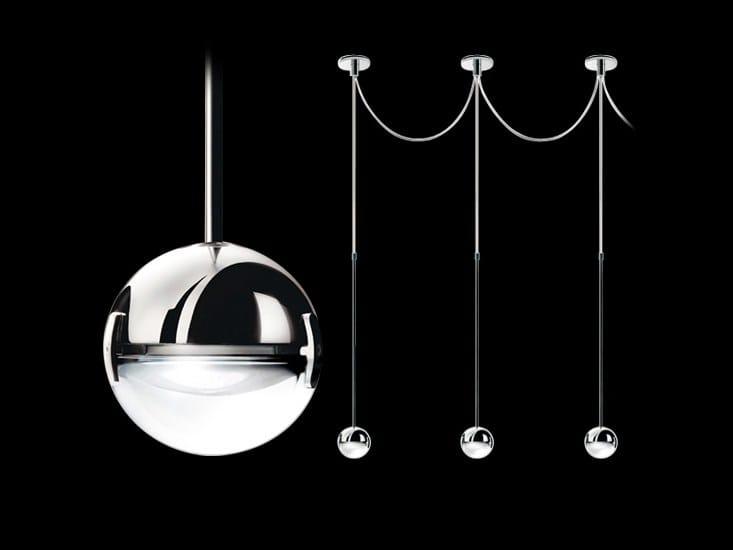 Halogen pendant lamp CONVIVIO SOPRATAVOLO MULTIPLA by Cini&Nils