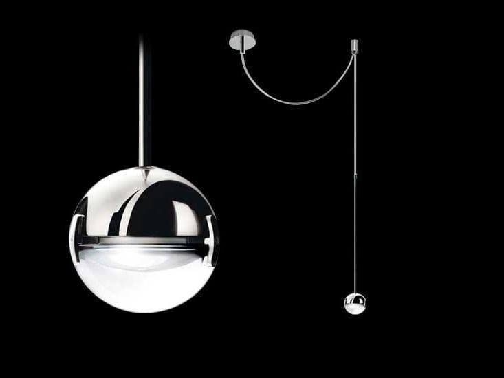 LED pendant lamp CONVIVIO NEW LED SOPRATAVOLO DECENTRATA by Cini&Nils