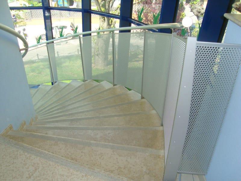 Aluminium Stair railing S. CLEMENTE by ALUSCALAE