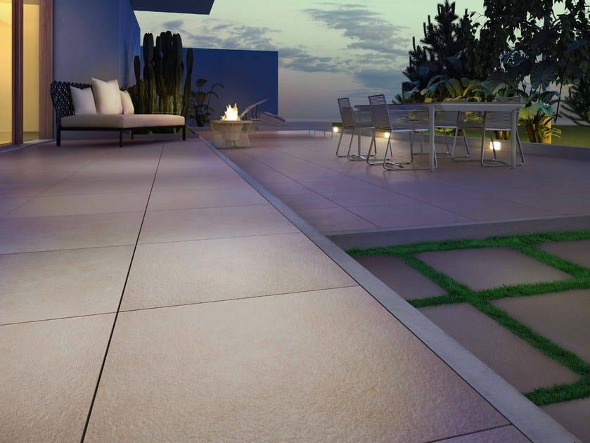 Pavimento Esterno Pietra : Pavimento per esterni in gres porcellanato effetto pietra kerblock