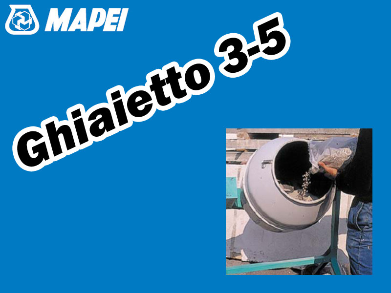 Gravel GHIAIETTO 3-5 by MAPEI