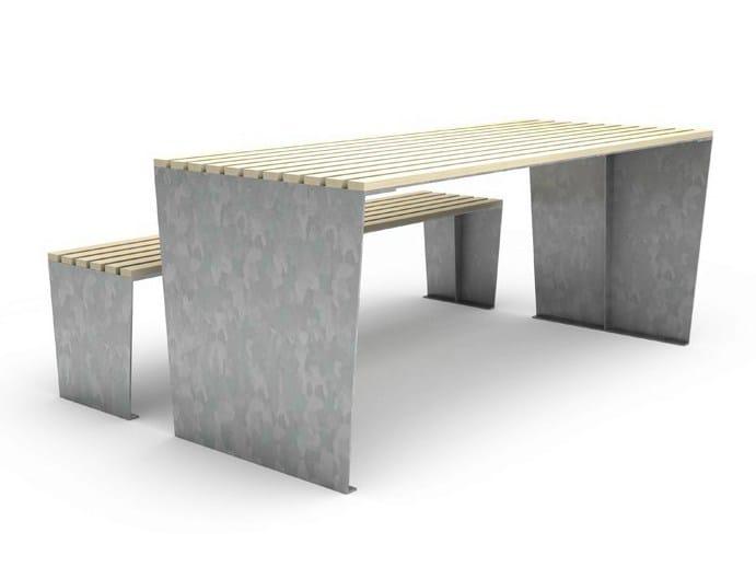 MARILYN | Tavolo per spazi pubblici