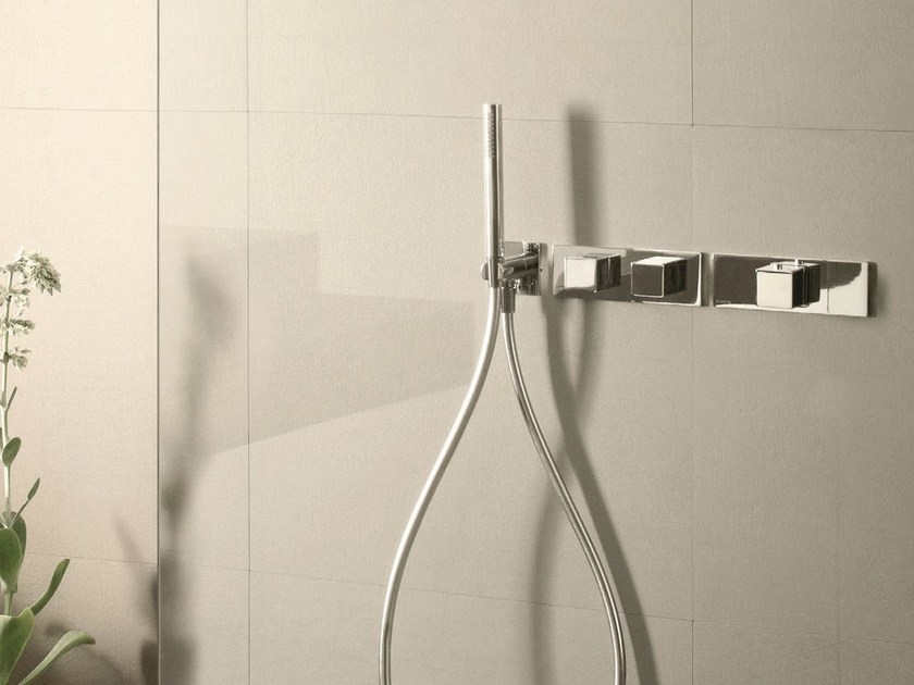 Thermostatic shower mixer with hand shower MINT | Thermostatic shower mixer with hand shower by Fantini Rubinetti