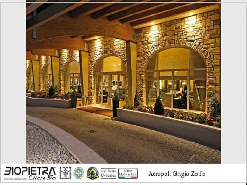 Artificial stone finish ACROPOLI by BIOPIETRA®