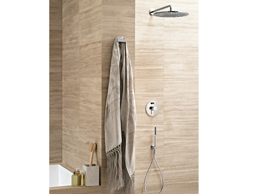 Shower mixer with diverter with hand shower CAFÈ | Shower mixer with hand shower by Fantini Rubinetti
