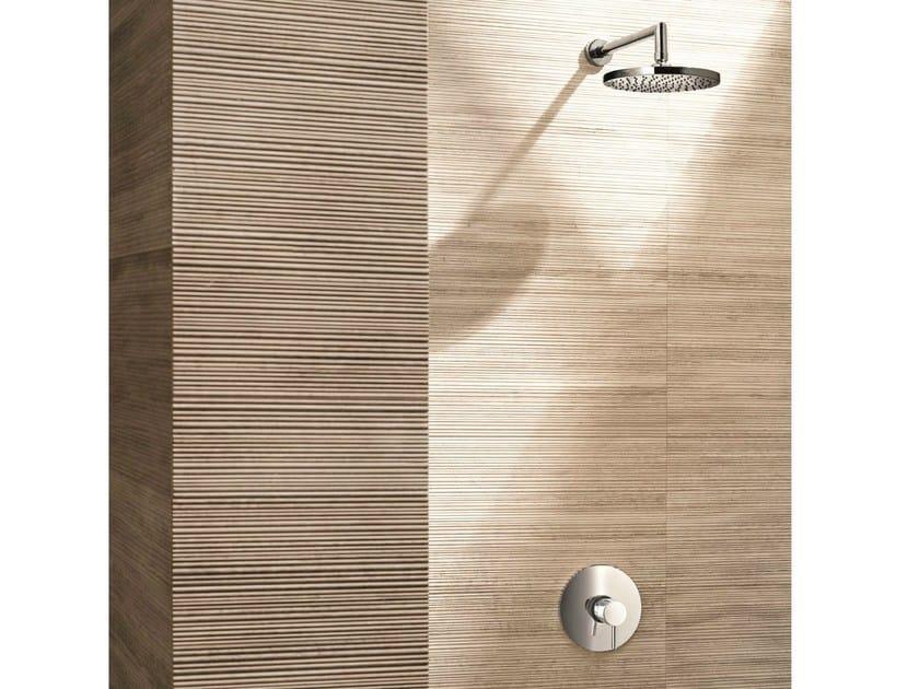 Single handle shower mixer with overhead shower CAFÈ | Shower mixer with overhead shower by Fantini Rubinetti