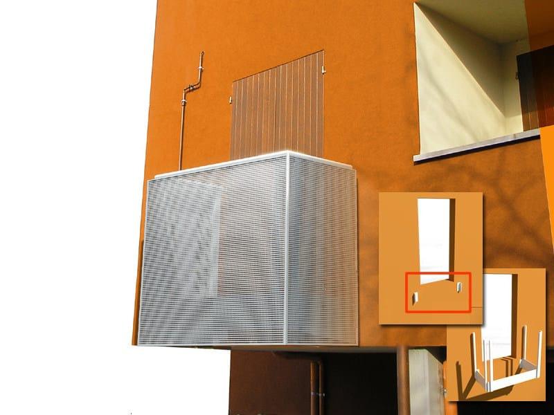 Parapetto per finestre e balconi BALCONE MONOBLOCCO by ALUSCALAE