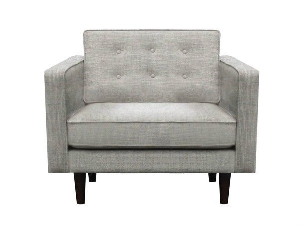 Upholstered fabric armchair with armrests N101 | Armchair by Ethnicraft