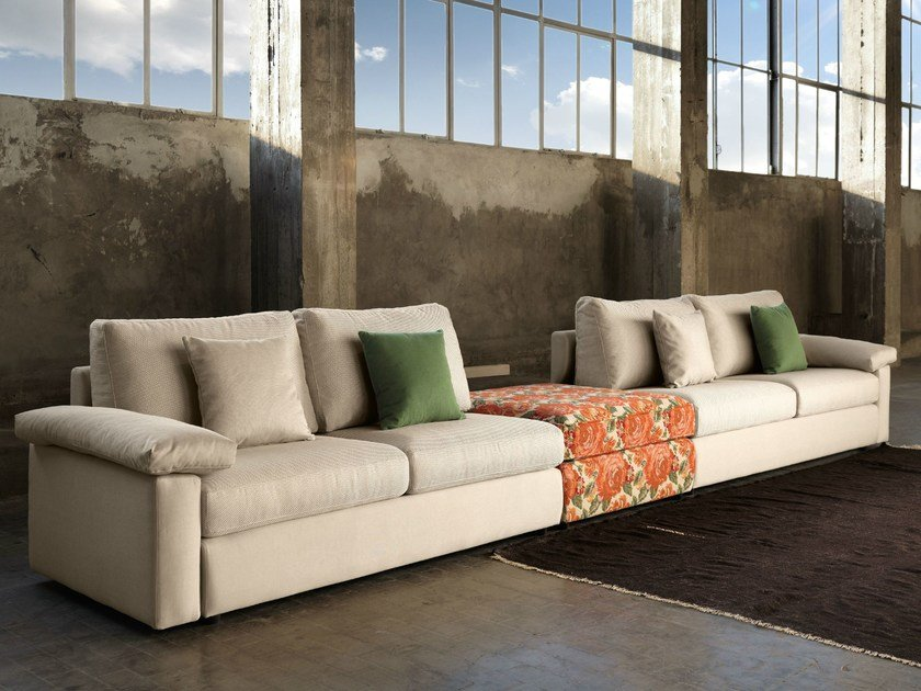 Sectional convertible sofa MUKAI | Sectional sofa by Domingo Salotti