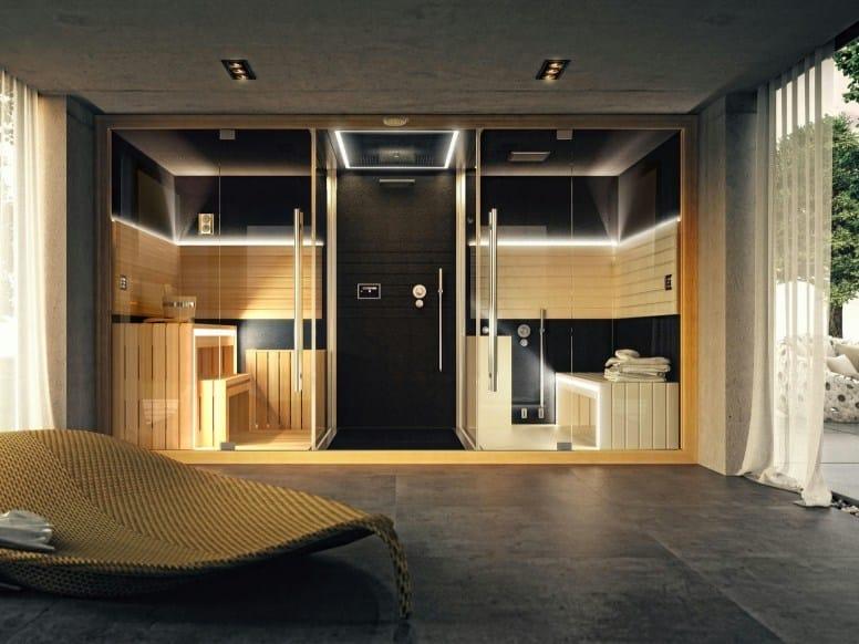 Sauna / baño turco SASHA By Jacuzzi diseño Alberto Apostoli