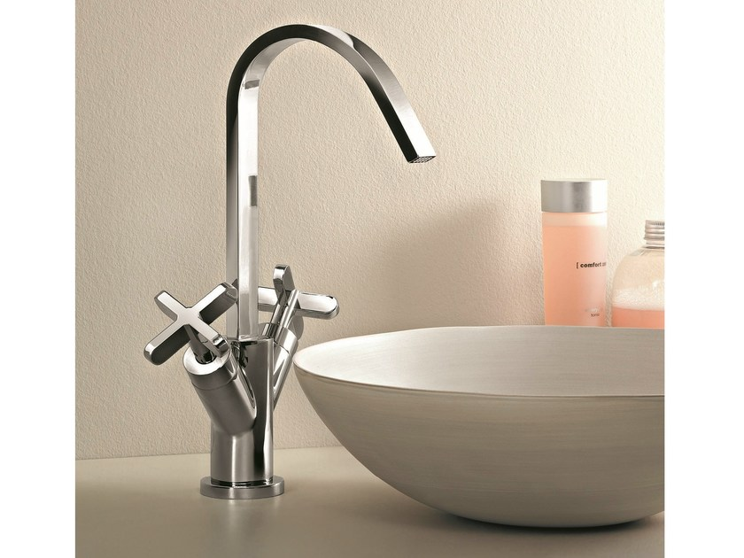 Countertop 1 hole washbasin tap RIVIERA | Countertop washbasin tap by Fantini Rubinetti