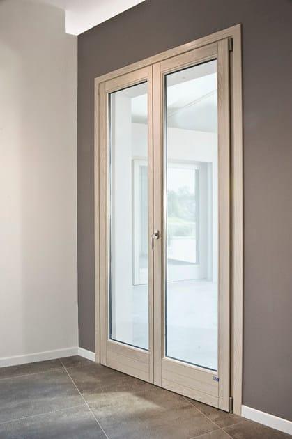 Alaska porta finestra ad anta ribalta by bg legno - Porta finestra legno ...