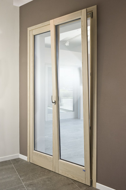 Ash patio door ALASKA | Patio door by BG legno