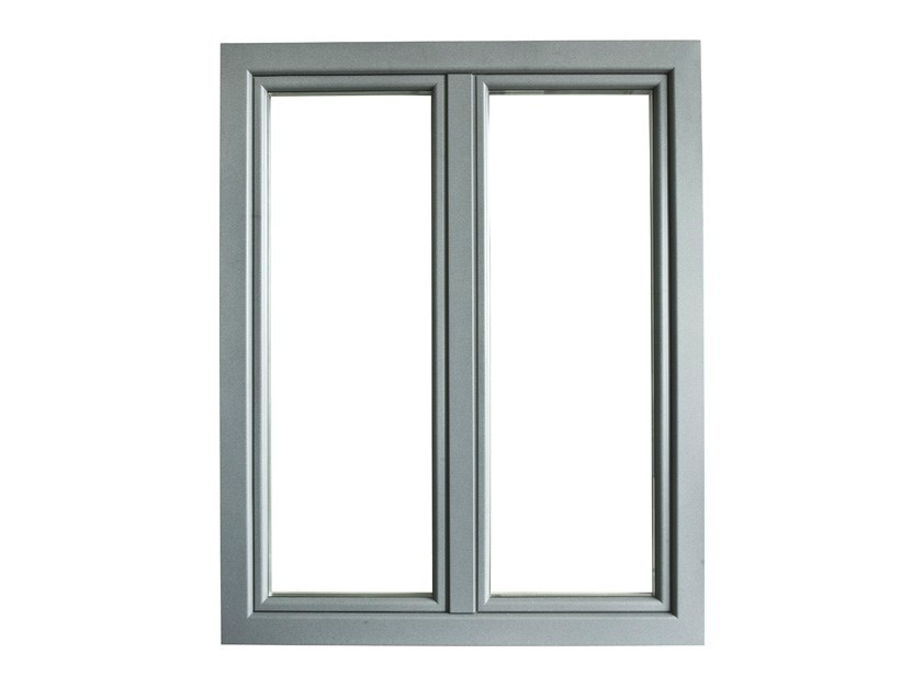 Aluminium and wood casement window ETERNA | Window by BG legno