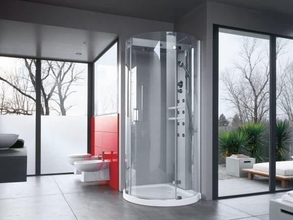 Box doccia multifunzione con bagno turco mynima by jacuzzi