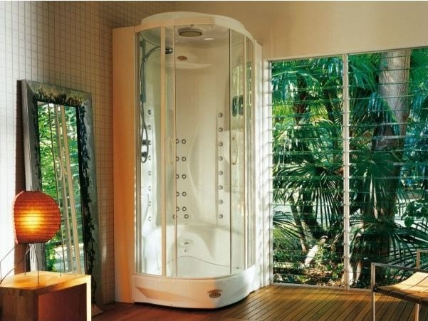 Multifunction steam shower cabin FLEXA THEMA SQUARE by Jacuzzi