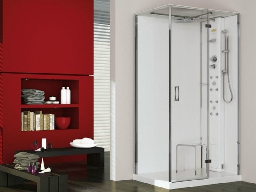 Multifunction steam shower cabin PLAY 100 by Jacuzzi