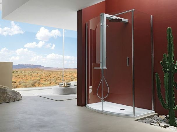 Shower cabin with hinged door START! 70 | Shower cabin by Jacuzzi