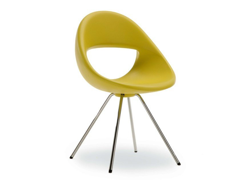 Chair with 4-spoke base LUCKY 906 | Chair by Tonon