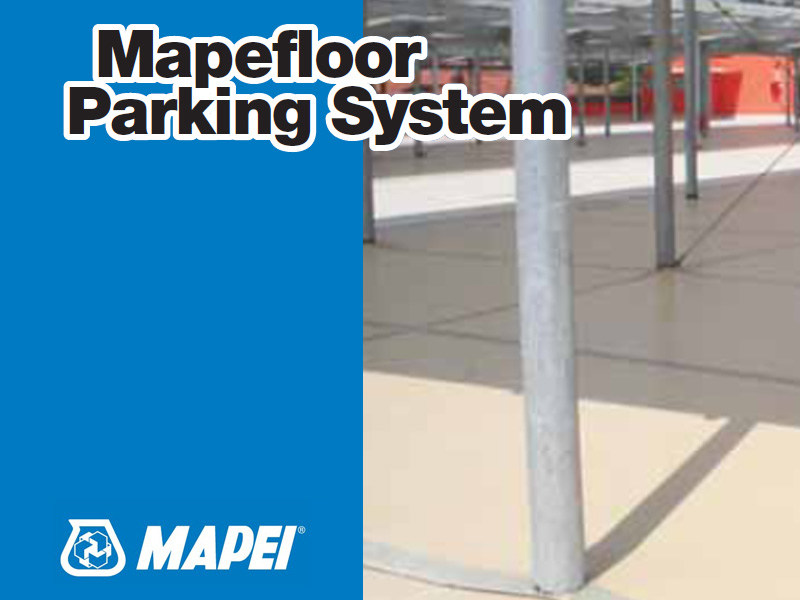Flooring protection / Non-slip treatment for flooring MAPEFLOOR PARKING SYSTEM by MAPEI