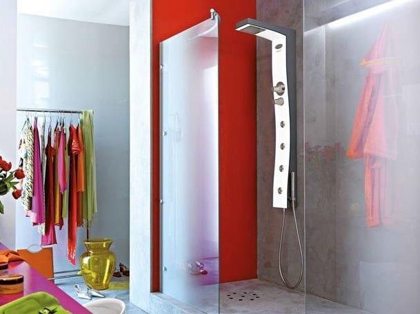 Box doccia idromassaggio multifunzione ingresso a sinistra