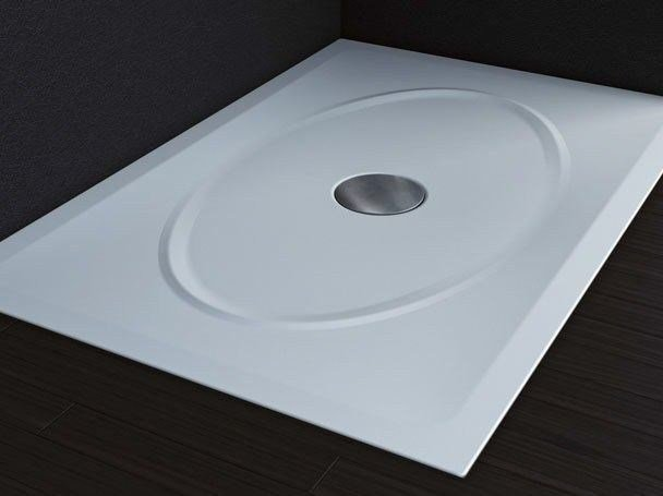 Flush fitting rectangular shower tray MOOVE | Shower tray by Jacuzzi