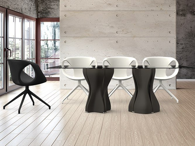 Rectangular custom table MAC'S TABLE | Rectangular table by Tonon
