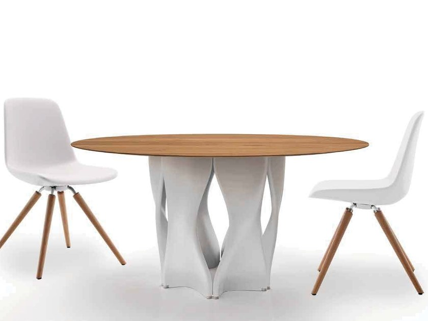 Round custom table MAC'S TABLE | Round table by Tonon