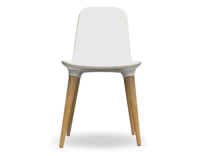 Integral polyurethane foam chair TAKO 451 | Chair by Tonon