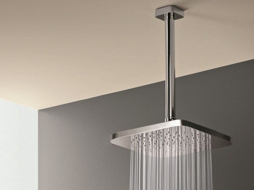 Ceiling mounted overhead shower with anti-lime system Overhead shower with anti-lime system by Fantini Rubinetti