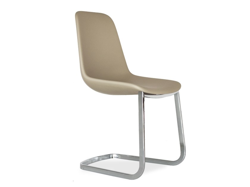 Cantilever Freeform advanced chair STEP | Cantilever chair by Tonon