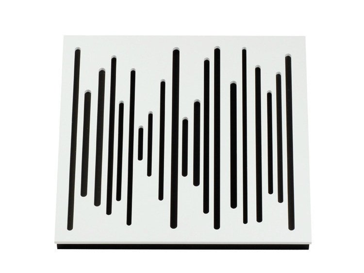 Wood-product decorative acoustical panel WAVEWOOD DIFFUSER 60 by Vicoustic by Exhibo