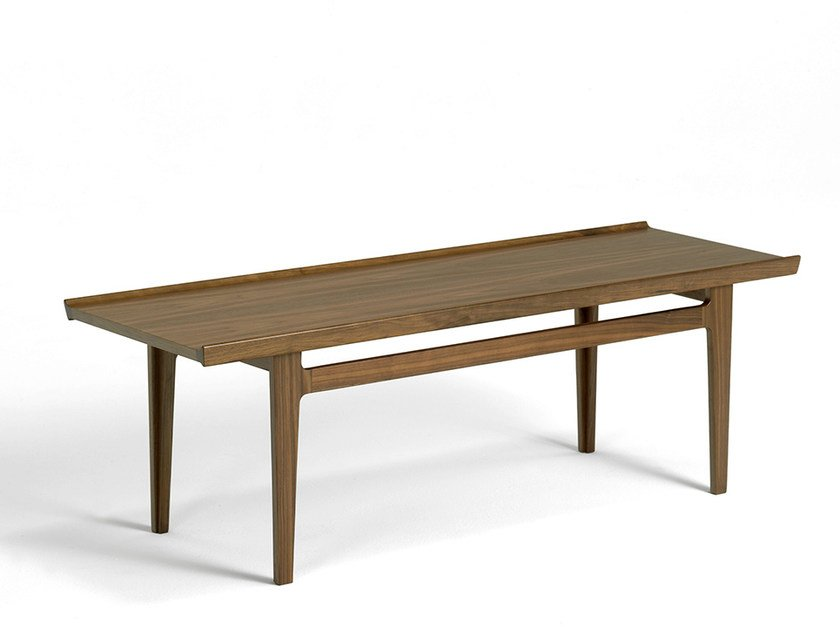 Low rectangular wooden coffee table 500 | Coffee table by Onecollection