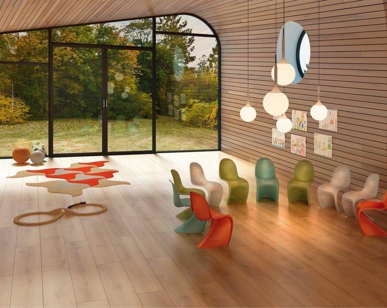 Ecological flooring with wood effect FINE by Vorwerk Teppichwerke