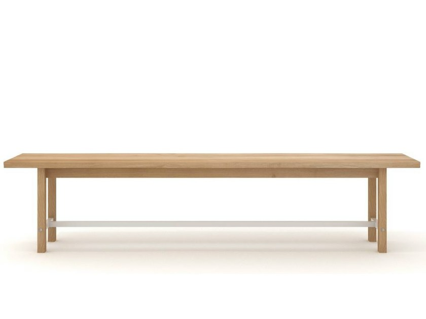 Oak bench SQUEEZE   Bench by Universo Positivo