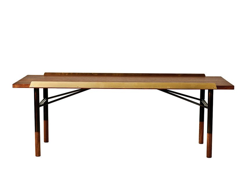Low rectangular wooden coffee table FJ | Coffee table by Onecollection